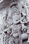Dancing Ganapati, Belur Sculpture