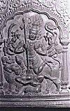 Shiva Kills Taraka with a Trident