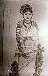 Tattoo of a Tribal Woman