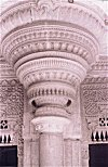 Carved  Pillar of Gwalior Palace
