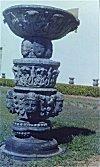Hindu Monument Preserved in an Old Goan Church