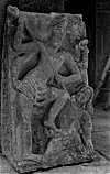Shiva Killing an Asura, Badami Sculpture