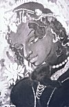 Lady from Ajanta Painting