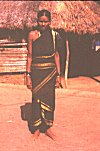 Tribal Woman of Gramokkal Community  in Traditional Saree