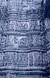 Erotic Sculpures on the Chandela Temples