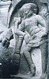 Shiva with a Mace