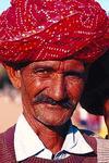 Man in Bandani Turban